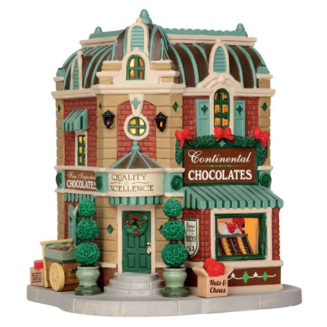 lemax christmas collection lemax collection building continental chocolates