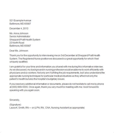 thank you letter interview offer erpjewels com