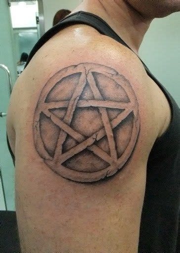 pentacle tattoo 17 best ideas about pentagram on