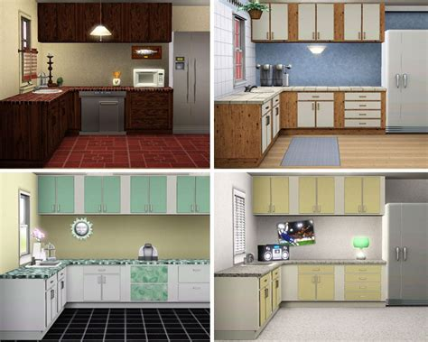 sims kitchen ideas retro decor for luxurious creative simple bathroom design