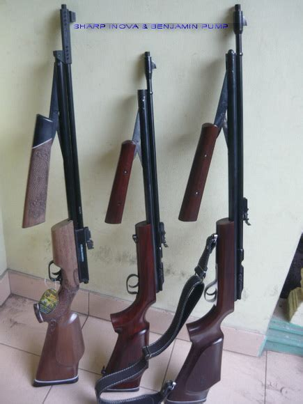 Pompa Inova produksi senapan angin pcp dan laras senapan merk cz