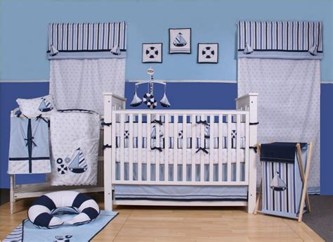 Nautical Baby Boy Crib Bedding Bacati Sailor Baby Bedding And Decor Baby Bedding And Accessories