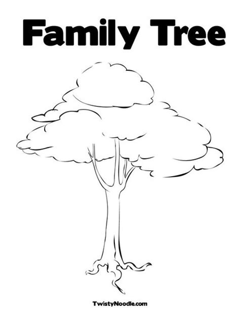 printable family tree books 195 genealogical tree colouring pages page 2
