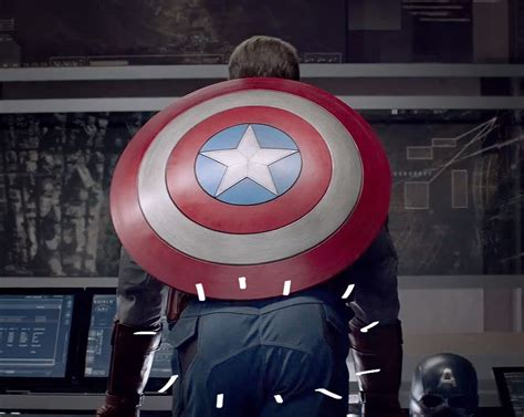 Kaos Spandex Captain America Shield dat