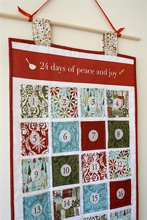 how much to make a calendar 25 best ideas about fabric advent calendar on