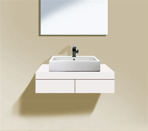 duravit console duravit fogo 800 x 550mm central cut out console with 2
