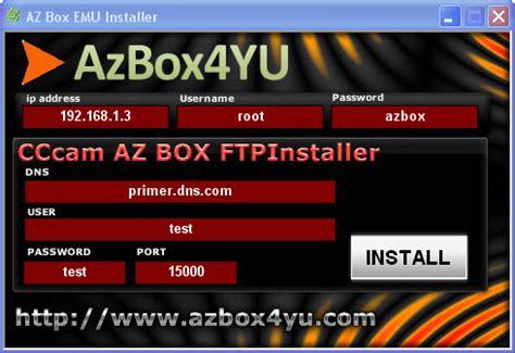 tutorial azbox evo xl cs emulador cs azbox az decos