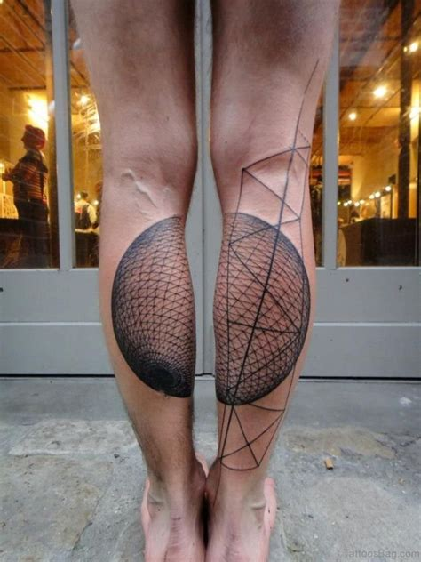 geometric leg tattoos 50 brilliant geometric tattoos on leg