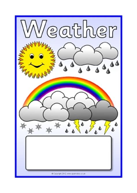 printable weather poster weather primary teaching resources printables sparklebox
