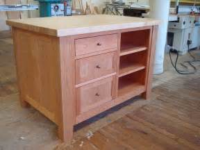 made freestanding craft table kitchen island by