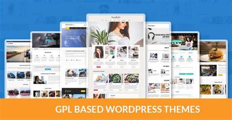 themes wordpress gpl free gpl wordpress themes read in brief