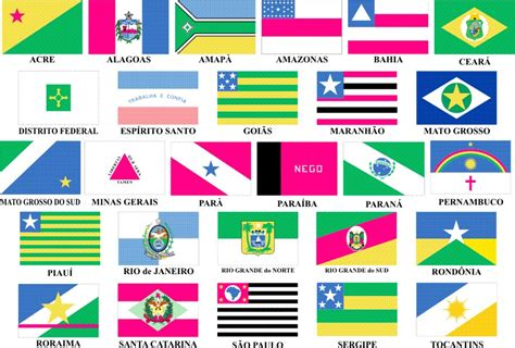 Flags of Brazilian states