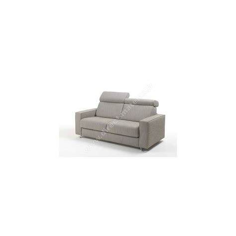 canap駸 m canap 233 convertible d m comete tissu chin 233 gris couchage