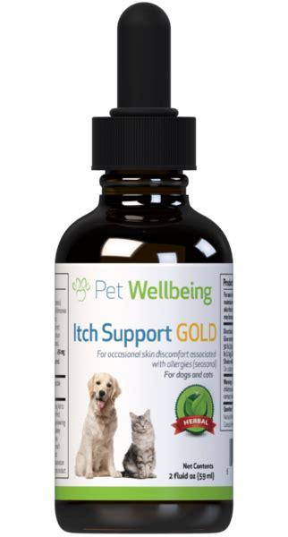 itch support gold  dogs petwellbeingcom
