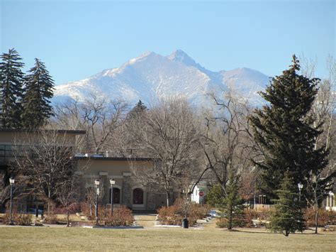 park longmont longmont co view of longs peak from roosevelt park in downtown longmont photo