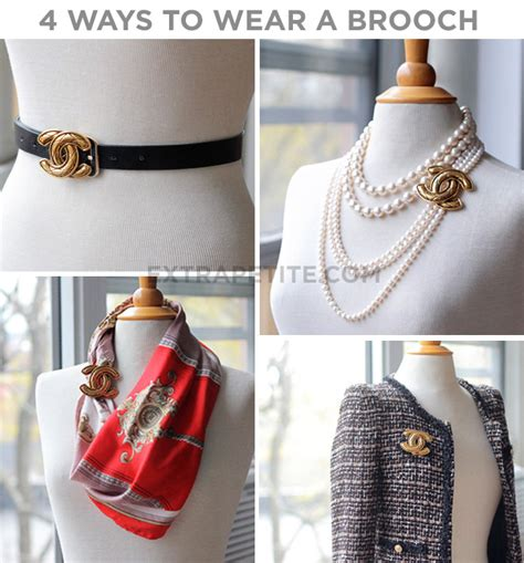 Ways To Wear A Brooch by Fashion Style Tips And Diy