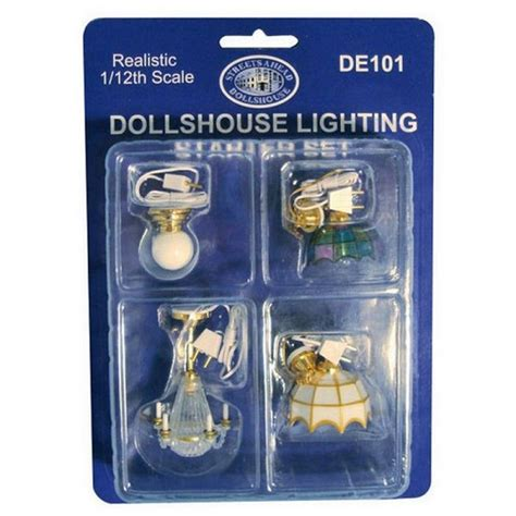dolls house lighting sets dolls house ceiling light starter set rb modelsrb models