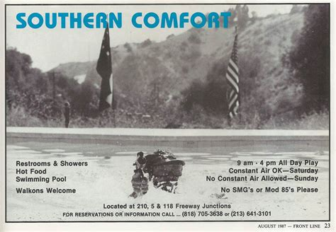 history of southern comfort southern comfort paintball and the colonel los angeles