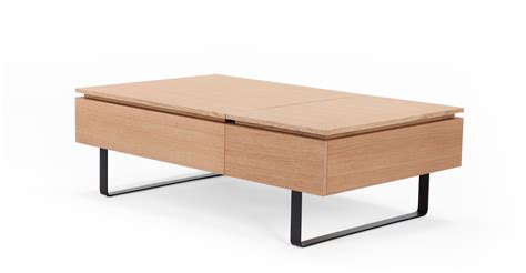 oak coffee tables with storage space flippa functional coffee table with storage oak