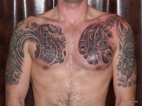 tattoo japanese chest japanese tiger tattoo chesthelenasaurus
