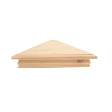 decorative crown moulding home depot knape vogt 9 in x 20 in crown molding unfinished corner decorative shelf kit 2110uc 14x14