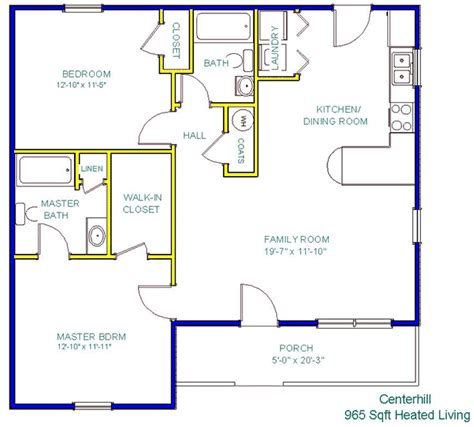 floor plan company tinker construction company inc floor plans