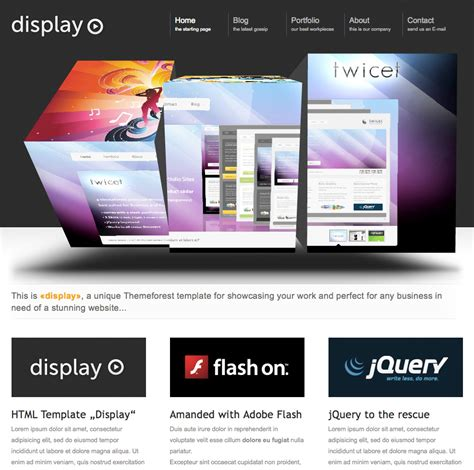 Business Website Templates Website Templates For Business