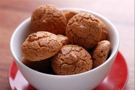 recettes cuisine l馮鑽e recette de amaretti les macarons italiens facile et rapide