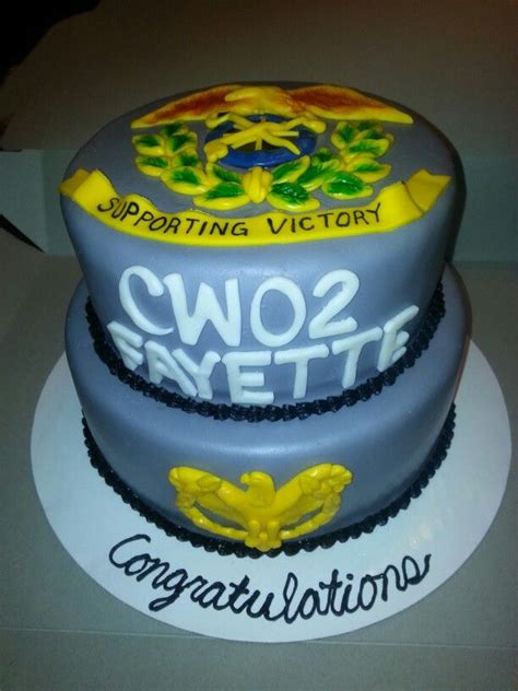 warrant officer promotion cake  cake creations
