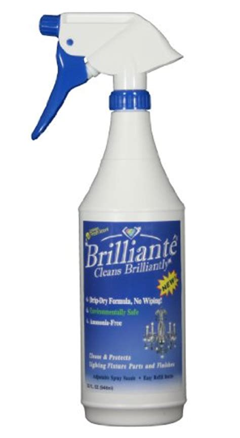 chandelier cleaner spray reviews brilliante chandelier cleaner manual sprayer 32oz
