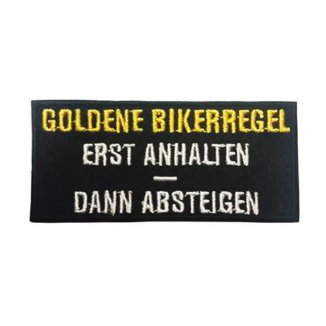 ebay motors customer support b 252 gel aufn 228 aufb 252 gler goldene bikerregel kutte support