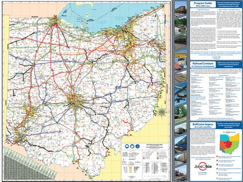 State Of Ohio Address Lookup Pages Ohio Rail Map