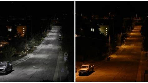 led lights too bright calgary s new led street lights won t shine too bright