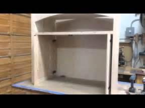 Pocket Door Kitchen Cabinets Custom Pocket Doors On Media Cabinet