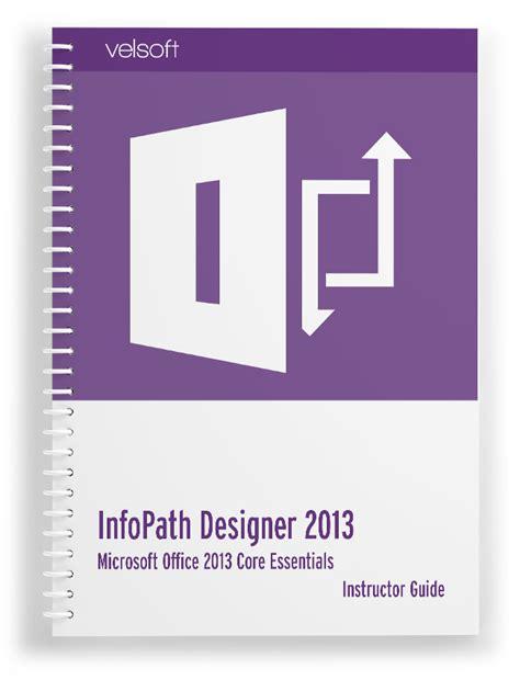 office 2010 infopath design and filler
