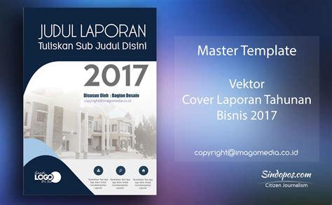 template cover buku word template desain cover laporan tahunan bisnis 2017
