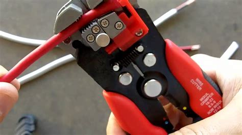 how to use wire stripping tool wire strippers