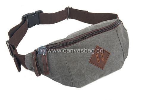 canvas waist bag waist pack canvas bag leather bag