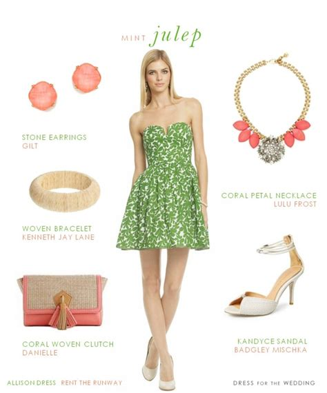 Green printed sundress