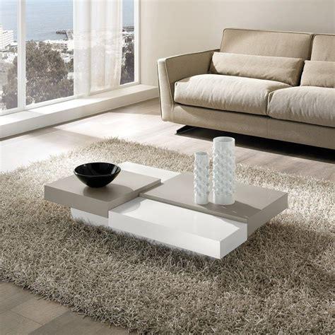 tavolo per soggiorno tavolino lionel moderno per soggiorno in legno laccato 110