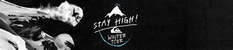 High Ride Quiksilver stay high winter tour 2016 quiksilver