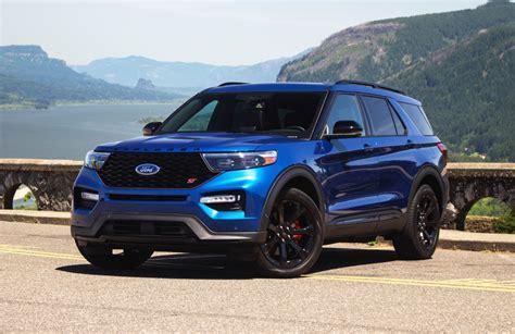 2020 Ford Explorer St Atlas Blue