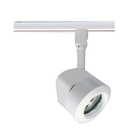 modern track light head in white finish tl140wh destination lighting