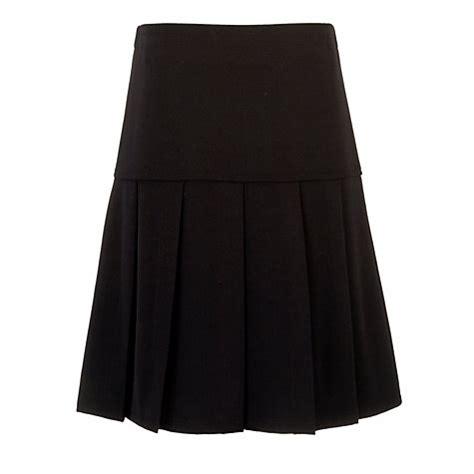 buy pleated school skirt black lewis