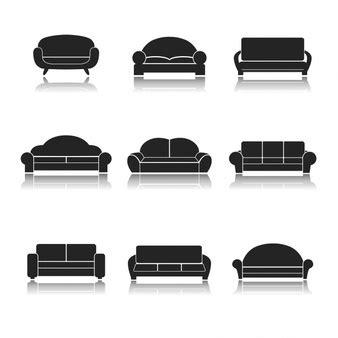 di divani divani foto e vettori gratis