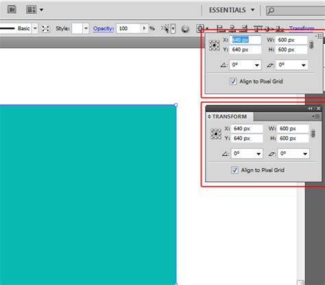 illustrator pattern transform quick tip how to use the illustrator transform panel as a