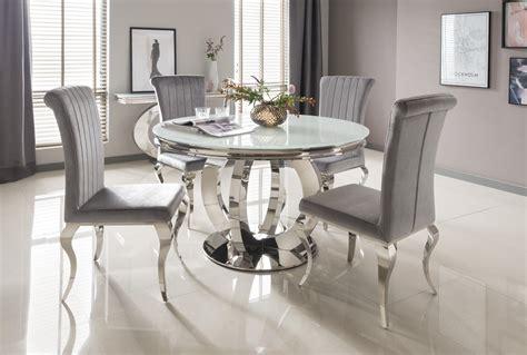 circular dining room table donatella circular dinning set home living