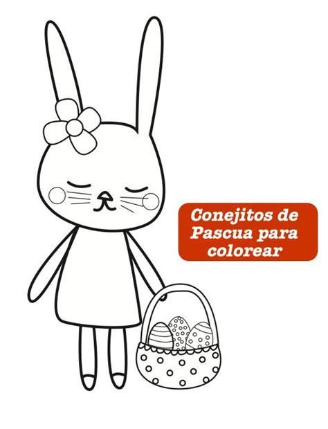dibujos para colorear de conejitos bebes 17 best images about ideas y manualidades pascua on