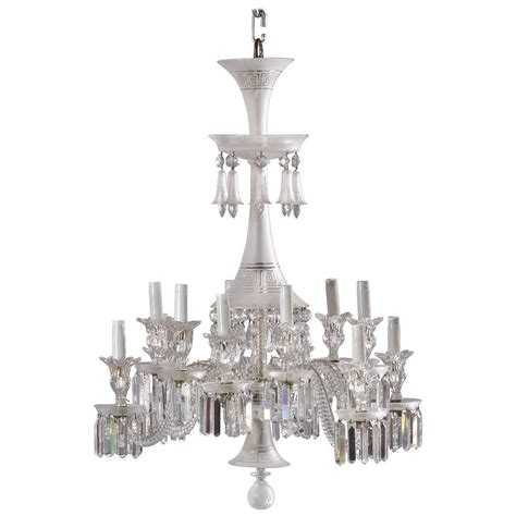 Neoclassical Chandelier By Baccarat For Sale At 1stdibs Neoclassical Chandeliers
