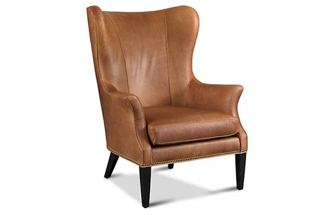 leather wing back chair tristen wingback chair saddle leather wingback chairs